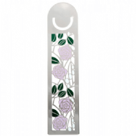 Mackintosh Lilac Roses Bookmark